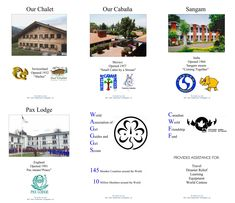 Four World Centres Posters.to use with my Four World Centres minibook owl-and-toadstool. Daisy Girl Scouts, Girl Scout Troop, Scout Leader, Brownies Girl Guides, Brownie Guides, Thinking Day Girlguiding, Brownies Activities, Gs World, Guide Badges