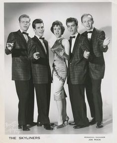 The Skyliners. 1959 Alan Freed, 50s Rock And Roll, Jack Taylor, Apollo Theater, Wall Of Sound, Bobby Darin, American Bandstand, Run To You, Free Concerts