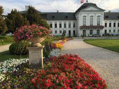 Grassalkovich Garden – Green spot in the city of (by Paulina Popjakova) Bratislava, Mansions, House Styles, City, Garden, Nature, Garten, Naturaleza, Manor Houses