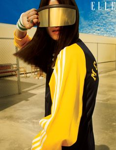 """""""FULL SPEED"""" Dress to win in sportif-inspired styles. Haute jersey, technical mesh and performance fabrics will  keep you ahead of the game. April 2014 ELLE Canada Issue. Styled by Sara Bruneau Photographs by Leda & St. Jacques Art direction by Denis Desro."""