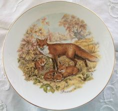 1. Something Vintage - Featuring Meghan's FAVORITE animal, the vintage fox plate (and varying other procurable vintage plates) for serving (would add a lovely, unique, quriky touch - isn't there just something a bit... fantastic... about foxes?)