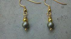Swarovski Pearl Earrings by Shelithas on Etsy, $8.99