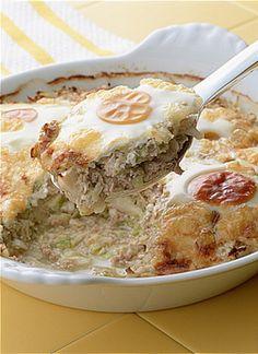 キャベツとひき肉のチーズグラタン | 大庭英子さんのレシピ【オレンジ ...