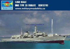 HMS Type 23 Frigate Kent[F78] Trumpeter 04544