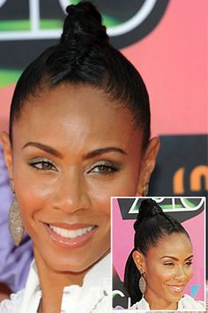 Jada Pinkett Smith hair style