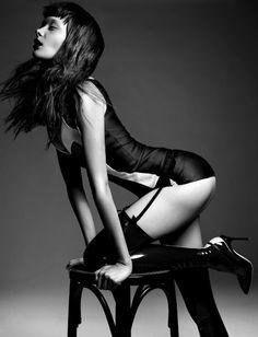 Tanya Katysheva's Seductive Lingerie Shoots for Style Singapore June