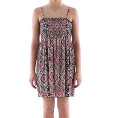Vestito multicolor top arricciato donna - € 19,90 | Nico.it - #fashionista #nicoit #nicoabbigliamentocalzature #fashion #nuoviarrivi #newarrivals #newcollection #nuovacollezione #bestoftheday #outfit #outfitoftheday #spring #springsummer #summer #ss15 #2015