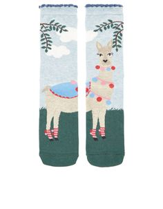 Larry The Llama Sock