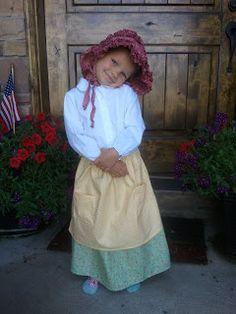 The Little Fabric Blog: Cute Little Apron Tutorial