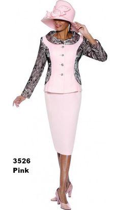 Susanna Pink Church Suit 3526