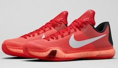 official photos a85fd dc128 (eBay Sponsored) Nike Kobe X 10 Majors University Red Bright Crimson  705317-616