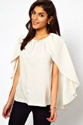 Caped sleeves are hot right now. This one is from ASOS