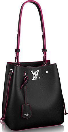 9d4d5c19fcab Louis Vuitton Lockme Bucket Bag