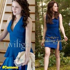 Lol two blue dresses, the beginning and the end :''''''( but i loved every second of it