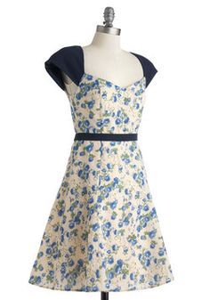 Rose Bouquet Dress, #ModCloth