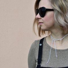 SWOKI dünner gehäkelter Choker auf www.swoki.at Round Sunglasses, Sunglasses Women, Jewelry, Fashion, Lilac, Accessories, Products, Jewelery, Jewellery Making