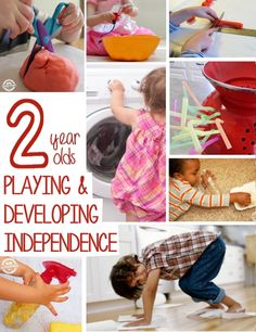 LOTS of activities for 2 year olds! I love the rainbow activities and the outdoor activities, too.  I've got to pin this list so that I can come back to it when we have a rainy day or we're stuck inside - what a lifesaver!