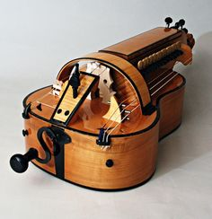 Another Vielle a Rou, or hurdy gurdy. I can't wait for my own to be finished!