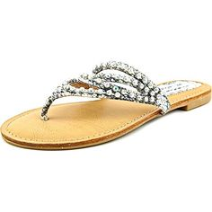 ff4827ad17ba5 Not Rated Womens Sunnyland Thong SandalWhite75 M US  gt  gt  gt  For more. Flip  Flop ...