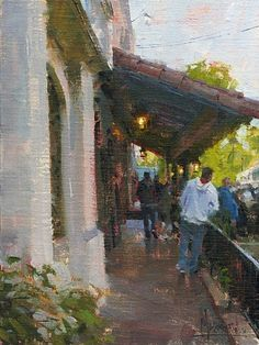 Near Olvera St. by Jennifer McChristian