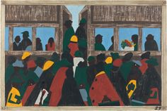 Jacob Lawrence's Migration Series, reunited: Really excited about this new MoMA exhibit up April 3-Sept 7