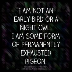 But even though you go to bed early this doesn't mean you're necessarily a morning person.