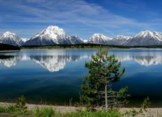 Wyoming  This is a picture of the Tetons I've been trying to get for years!  Maybe I'll get to go back there one day!  Truly God's country!