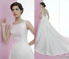 Elideth #miquelsuay #bridalcollection One Shoulder Wedding Dress, Bridal, Wedding Dresses, Fashion, Confident Woman, Curves, Princess, Women, Bridal Dresses