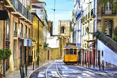 People who have been to Lisbon say the city is the jewel of Portugal. Detailed Itinerary 3 days in Lisbon, Portugal Lisbon Tram, Lisbon City, Lisbon Tours, European Vacation, European Travel, Week End En Europe, Cheap City Breaks, Places To Travel, Places To Go