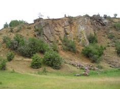 The dikes seen here are basaltic in nature, and are one of the best inland exposures of igneous dikes in the Oamaru region and belong to the wider Waiareka Volcanic group. The quarry exposes several near-vertical dikes. Dikes are formed when volcanic activity pushes magma up through a crack or a weakness in the crust.  This magma cuts across older material and cools in place as an igneous intrusion (i.e. it cools and 'sets' below the surface). Below The Surface, Country Roads, Group, Places, Nature, Naturaleza, Nature Illustration, Off Grid, Lugares