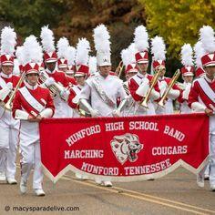 Munford High School Marching Band