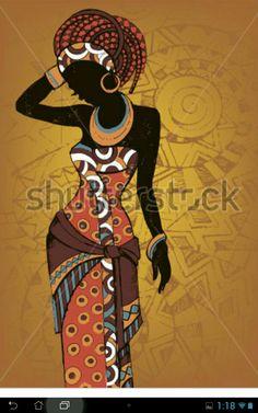 African American Black Art Woman 68 Ideas For 2019 Arte Tribal, Tribal Art, Black Art, Black Women Art, Beautiful African Women, Afrique Art, African Art Paintings, Art Premier, Afro Art