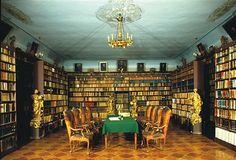 Franciscan Monastery Library, Dubrovnik, Croatia. http://www.malabraca.hr/?lang=en