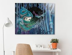 Discover «Forest eyes», Numbered Edition Aluminum Print by Ruta Dumalakaite - From $59 - Curioos