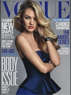 candice swanepoel magazine covers | Candice Swanepoel Modeling For The Cover Of Vogue Australia Magazine ...