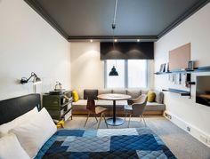 Een fantastisch hotel in Londen ingericht met lokale materialen Roomed | roomed.nl