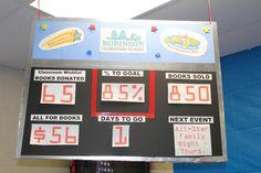 "Book Fair 2012 ""Scoreboard"""