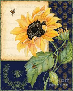 I uploaded new artwork to plout-gallery.artistwebsites.com! - 'Sunflower Melody-B' - http://plout-gallery.artistwebsites.com/featured/sunflower-melody-b-jean-plout.html via @fineartamerica