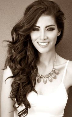 Wendy Esparza Nuestra Belleza México 2014 She competed as Miss Mexico in the Miss Universe pageant 2015 and she graduated from the communications school at Loyola University Chicago!!
