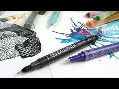 ▶ Derwent Graphik Line Painters - YouTube