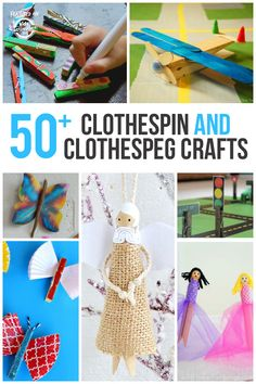 50+ Creative Clothespin Crafts