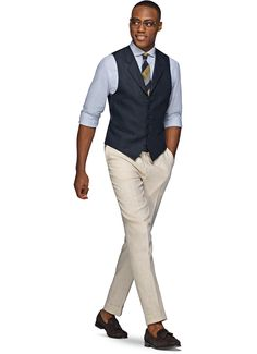 Navy Waistcoat W160112i   Suitsupply Online Store
