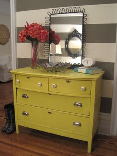 I like this for the yellow wardrobe from MIL