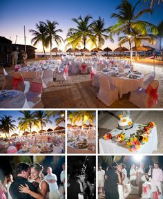 A destination wedding photographer ... That took pictures at the occidental grand aruba..O-M-G