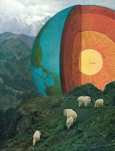 "Saatchi Art Artist jesse treece; Collage, ""Untitled"" #art"