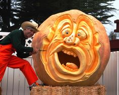 Carving the Great Pumpkin