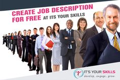 Create Job Description for Free at Its Your Skills - Effective job description is not just for screening candidates anymore! Make your job description a versatile management tool with Its Your Skills. Visit itsyourskills.com to create a job description for free today!