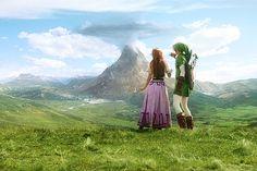 *drool* ianbrooks:  The Zelda Project: Link, Malon, and...