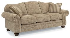 Bexley Fabric Sofa w/out Nails at Bruce Furniture