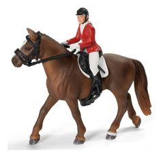 Schleich 42056 English Show Jumping Set and Rider for Horse- NIP Schleich Horses Stable, Horse Stables, Horse Tack, Bryer Horses, Horse Crafts, Sports Toys, Show Jumping, Horse Riding, Pet Toys